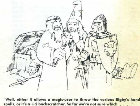 Classic from the original Dungeon Masters Guide