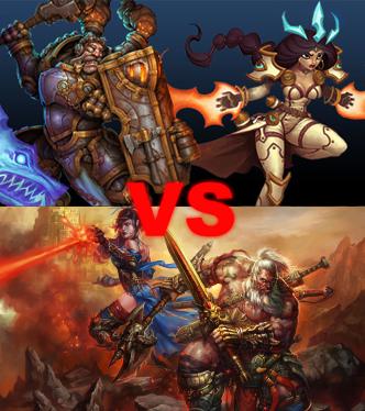 Torchlight II versus Diablo III