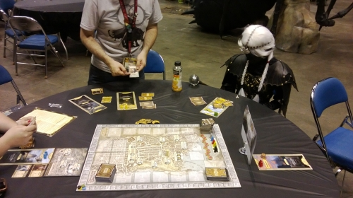 Dark Elf plays Lords of Waterdeep